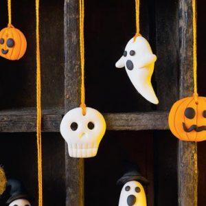 citrouille pate fimo halloween