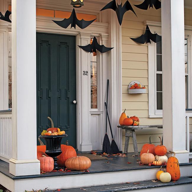 deco porte halloween pinterest chauve souris suspendue