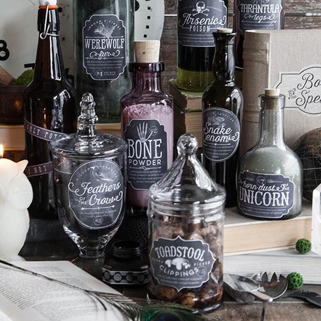 etiquette bouteille a imprimer gratuite halloween