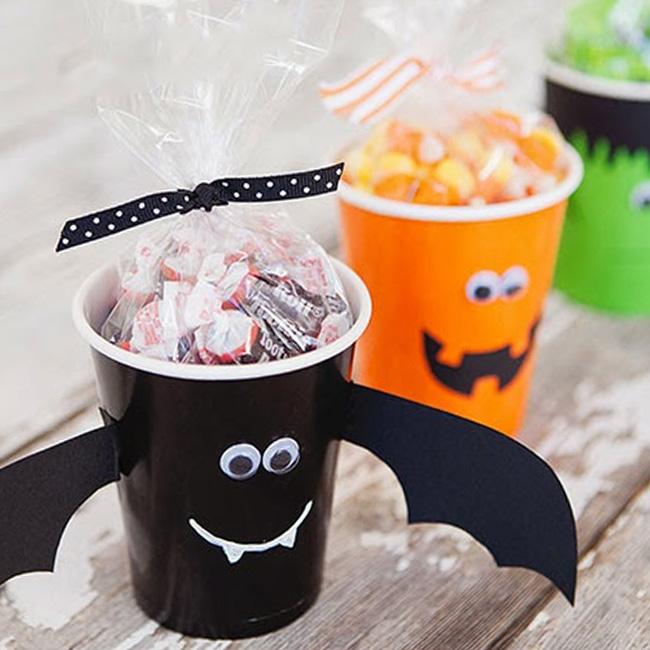 verre halloween bonbon diy