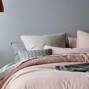 deco chambre adulte gris rose