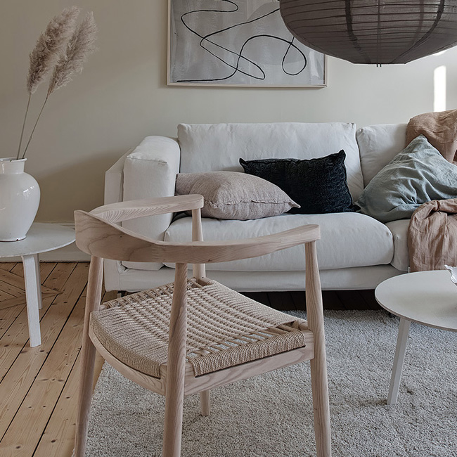 deco salon scandinave beige moderne nature