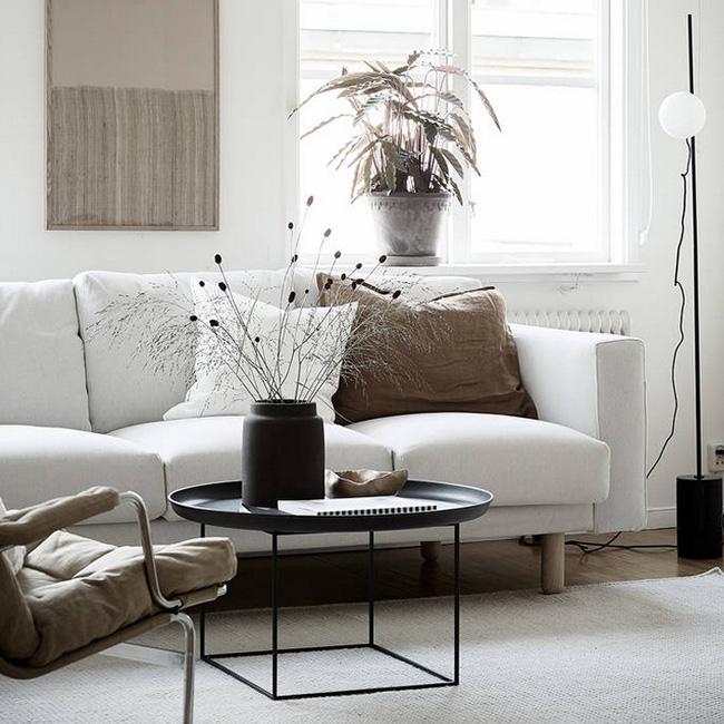 deco salon scandinave beige moderne