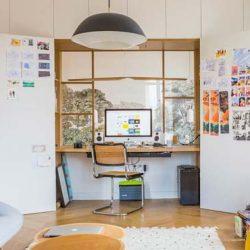 Comment intégrer un bureau dans un placard ?