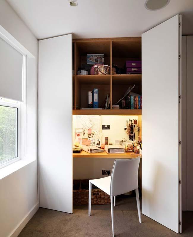 bureau placard étagère rangement