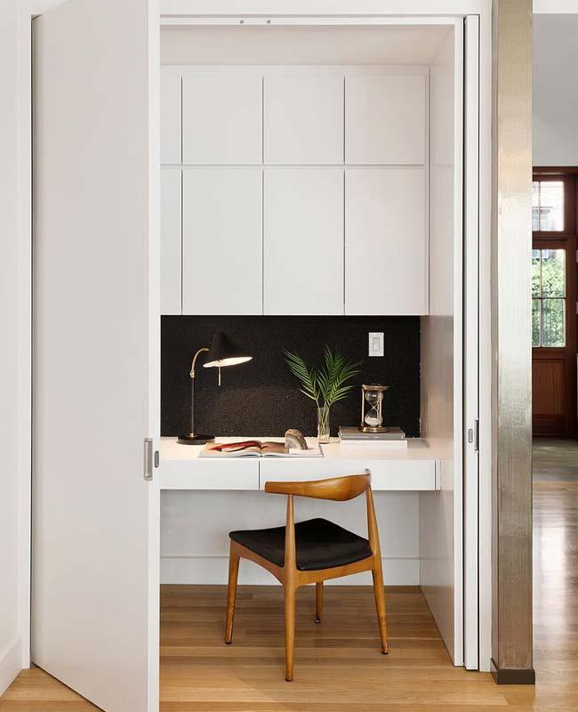 bureau placard design noir blanc