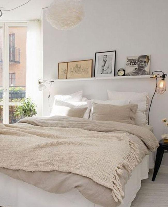 deco chambre beige scandinave