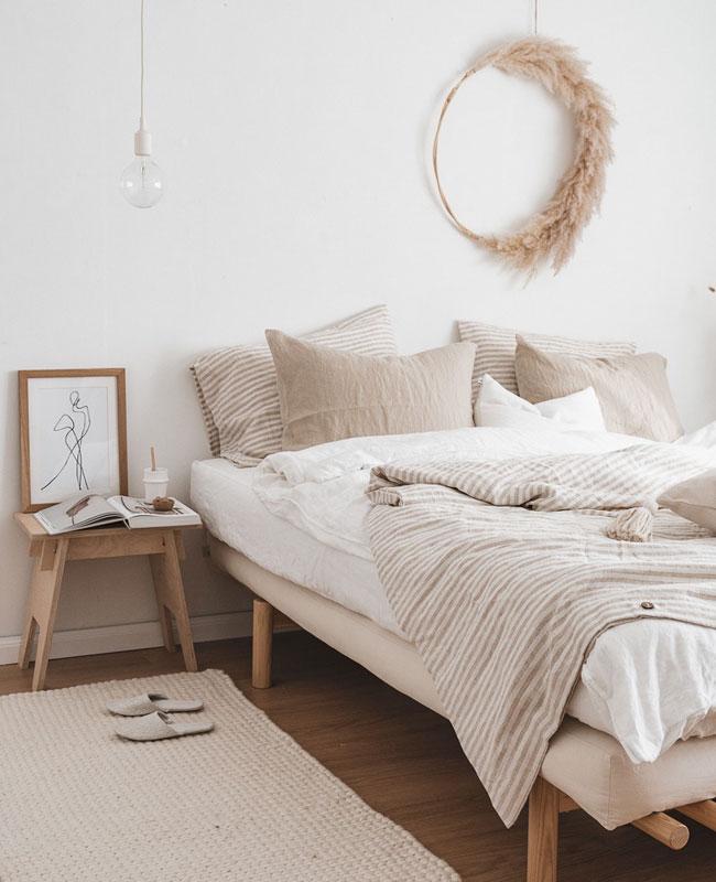 deco chambre beige nature