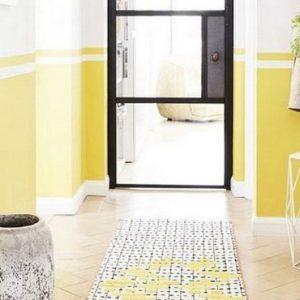 deco couloir jaune