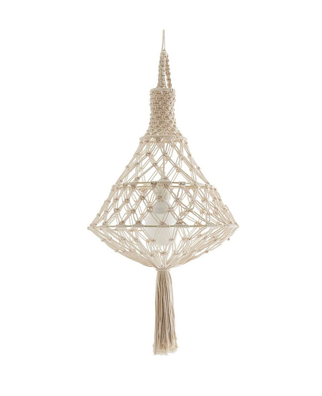 suspension macrame boheme