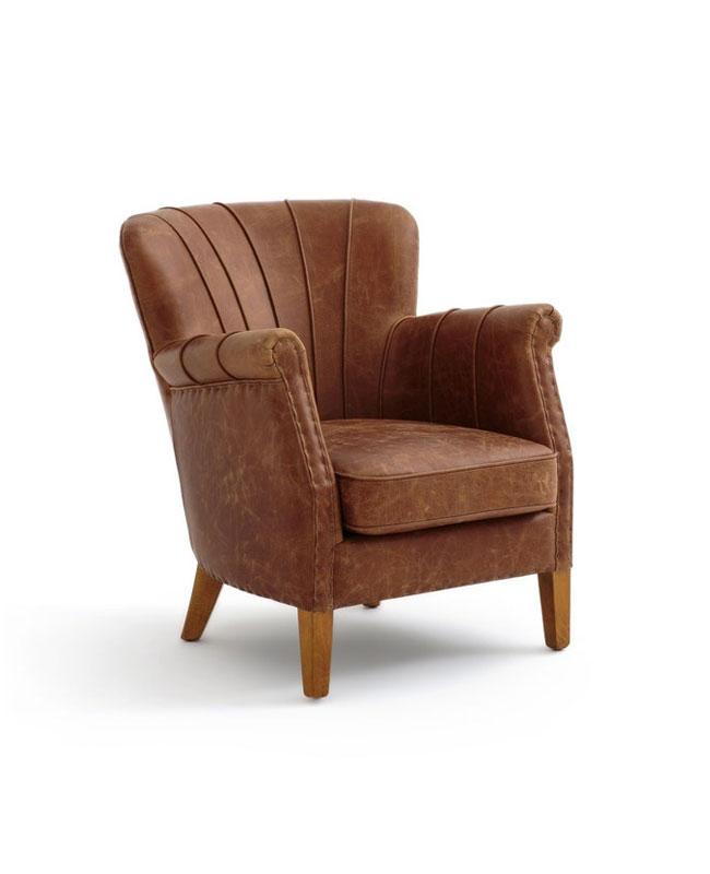 fauteuil cuir industriel
