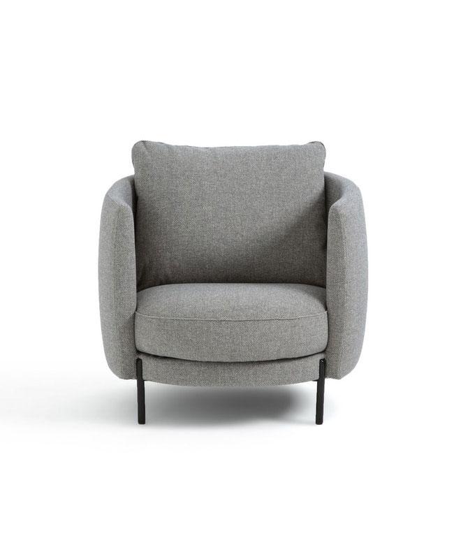 fauteuil gris moderne
