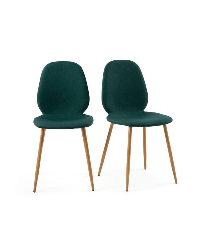 chaise vert canard