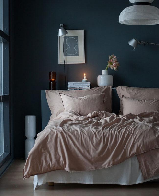 deco bleu canard beige chambre