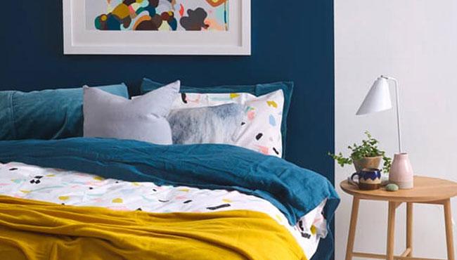 deco chambre bleu canard