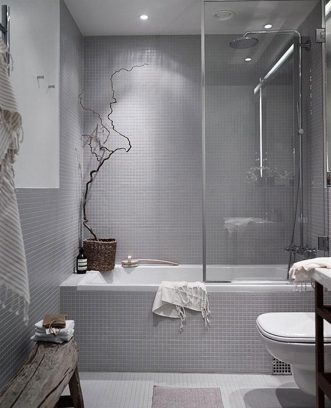 deco cosy gris salle de bain