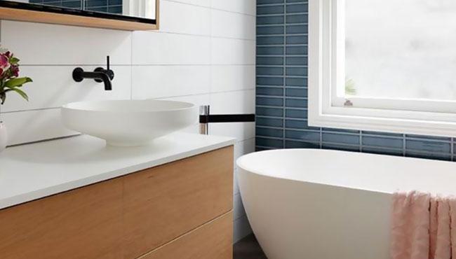 deco bleu canard salle de bain