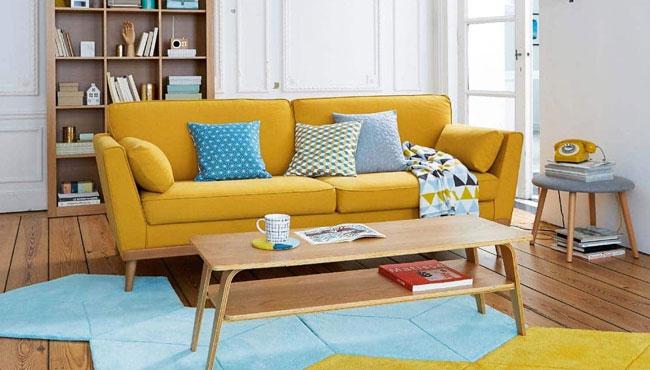 deco scandinave jaune