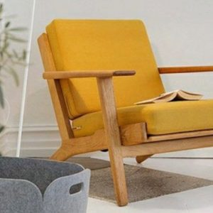 deco scandinave jaune moutarde