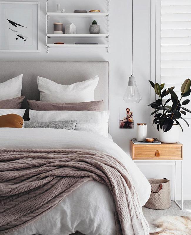 deco chambre moderne chic couleurs claires