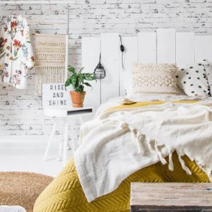 deco cosy jaune moutarde