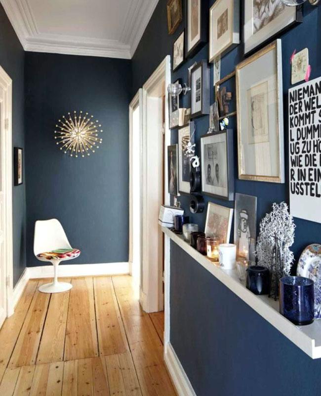 Utiliser le bleu pour la déco du couloir | My Blog Deco