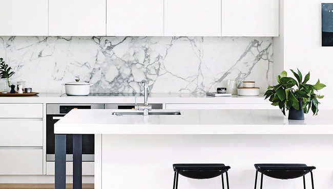 deco cuisine blanc moderne