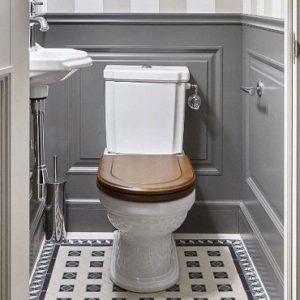 deco toilettes wc gris