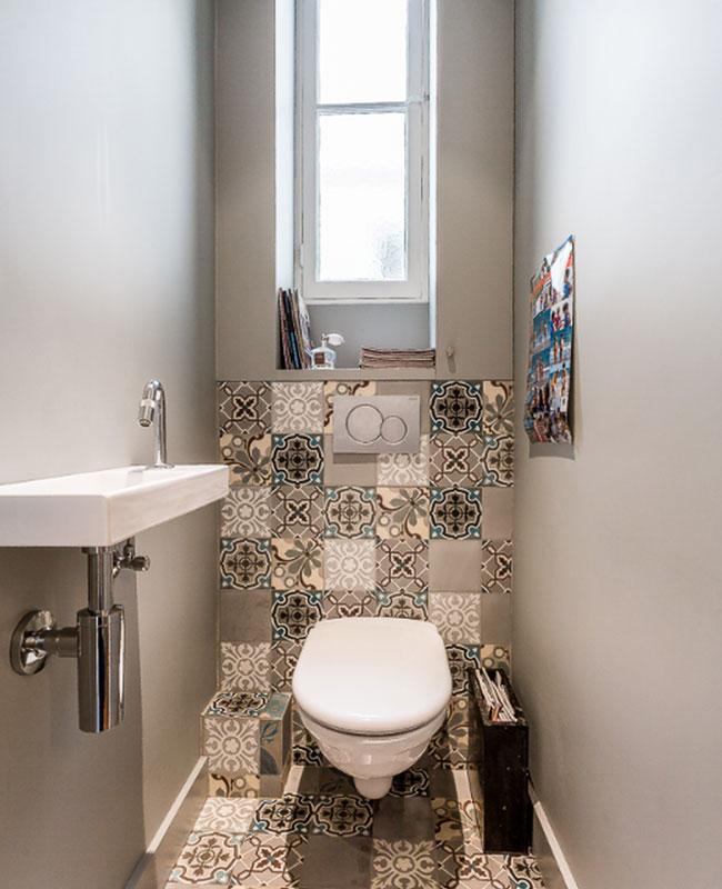 deco toilettes wc gris carreaux de ciment