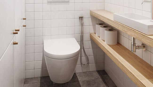 deco toilette wc scandinave