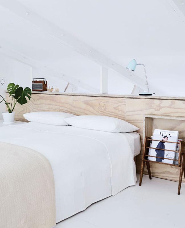 deco chambre beige blanc moderne