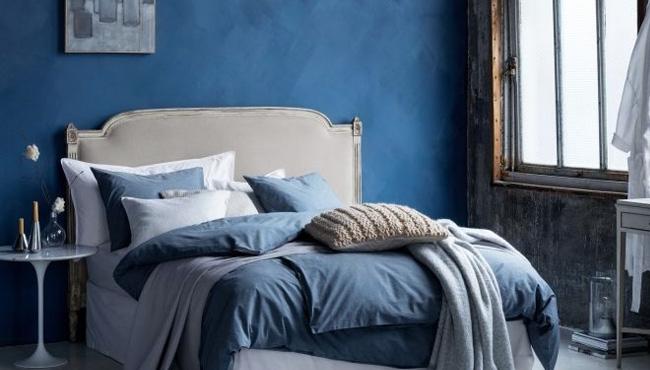 deco chambre beige bleu