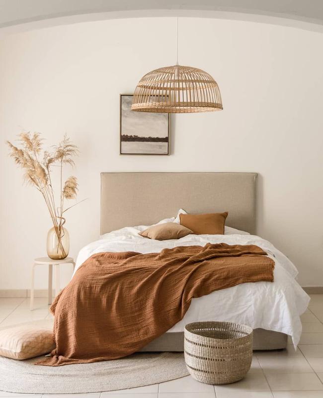 deco chambre boheme chic minimaliste