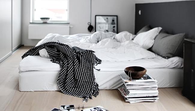deco chambre moderne blanc