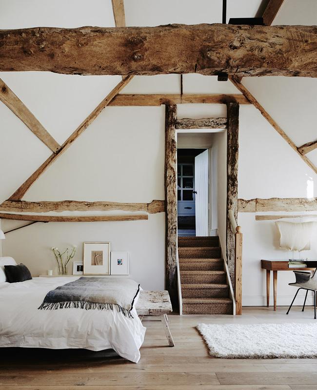 deco chambre campagne moderne minimaliste