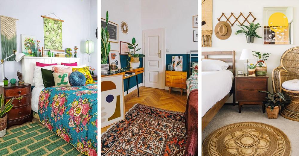 Une déco bohème vintage dans la chambre | My Blog Deco