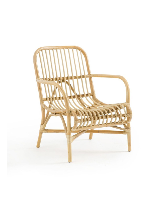fauteuil rotin bord de mer