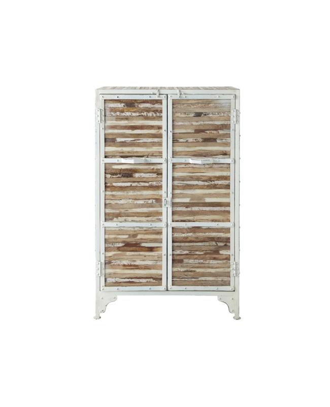 cabinet metal bois bord de mer