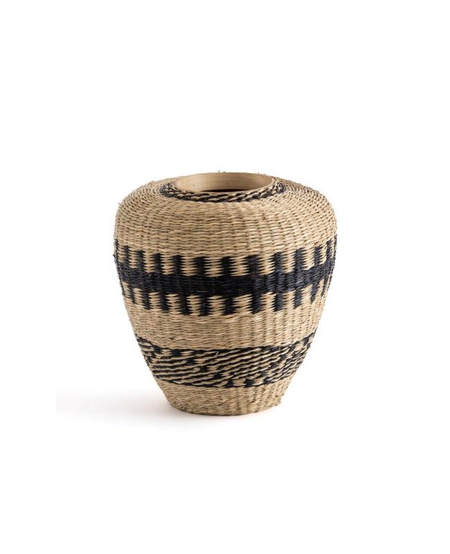 vase bambou herbier ethnique