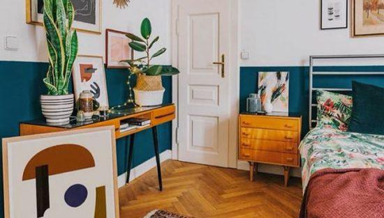 deco chambre boheme vintage