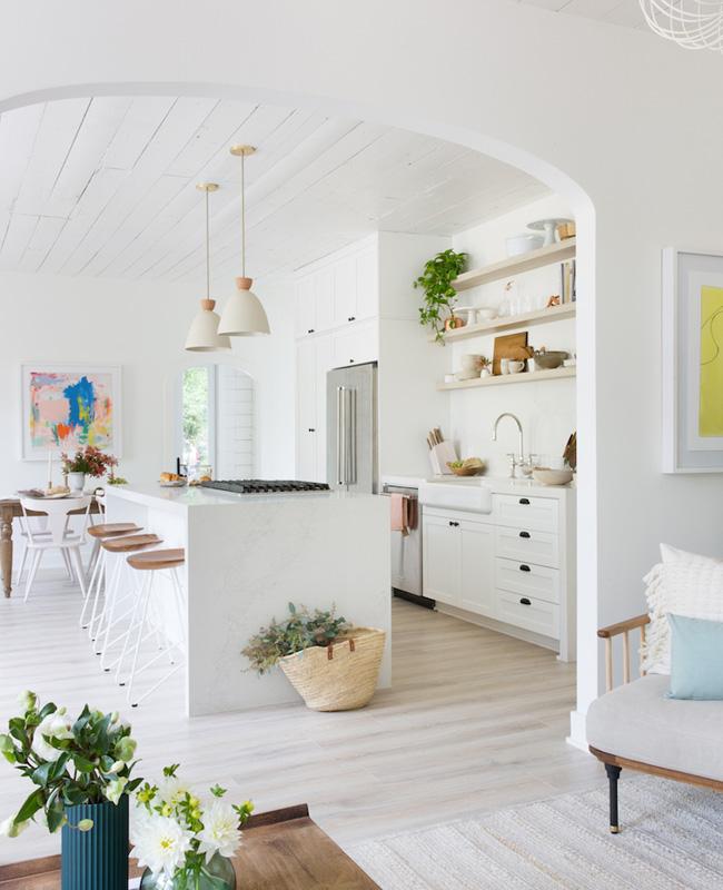 deco cuisine blanc total look