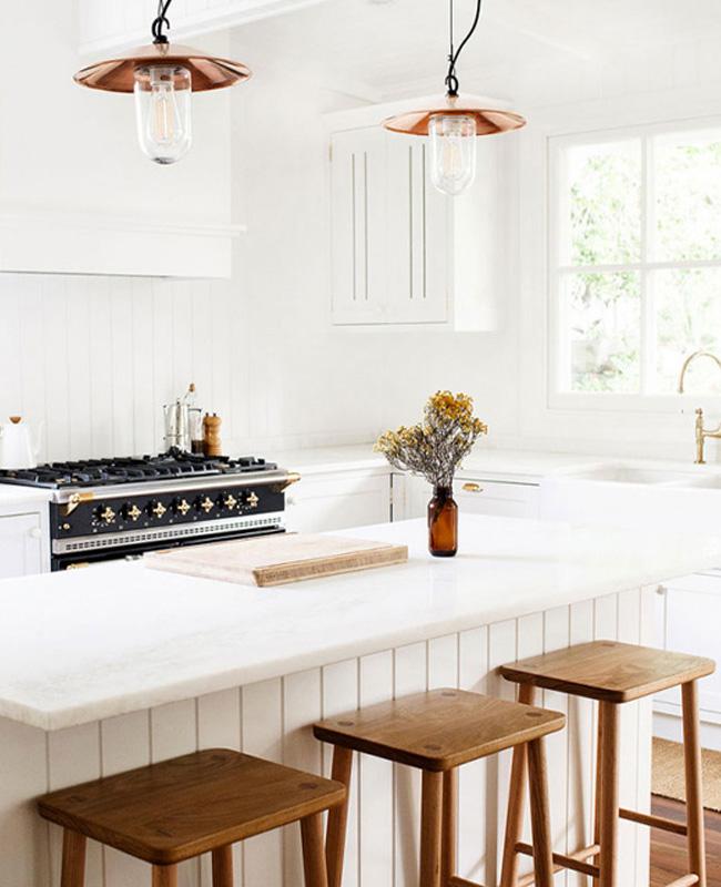 deco cuisine bord de mer chic minimaliste