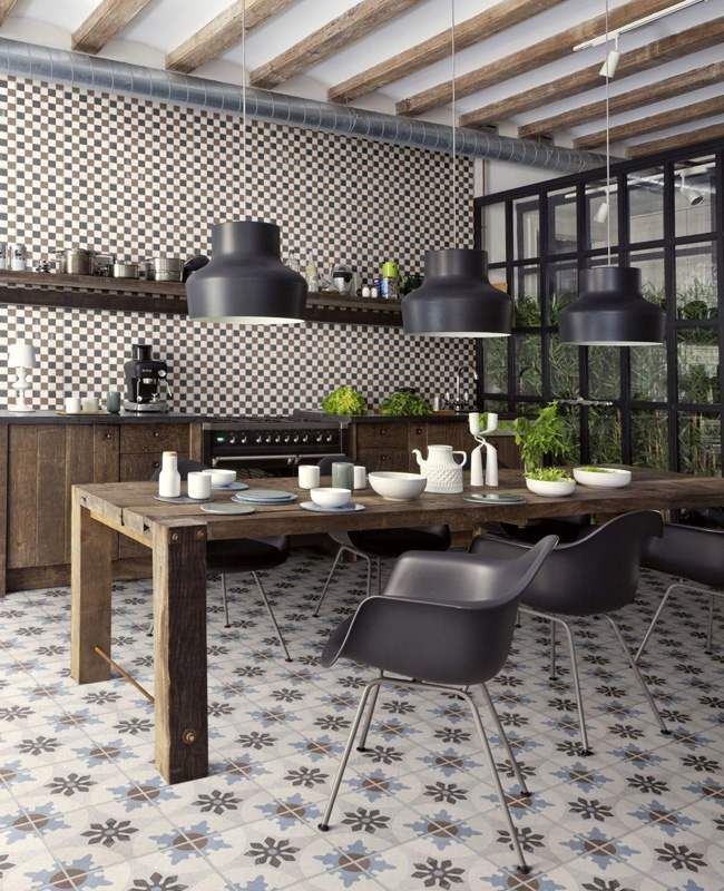 deco cuisine campagne moderne meuble