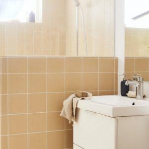 deco salle de bain beige blanc