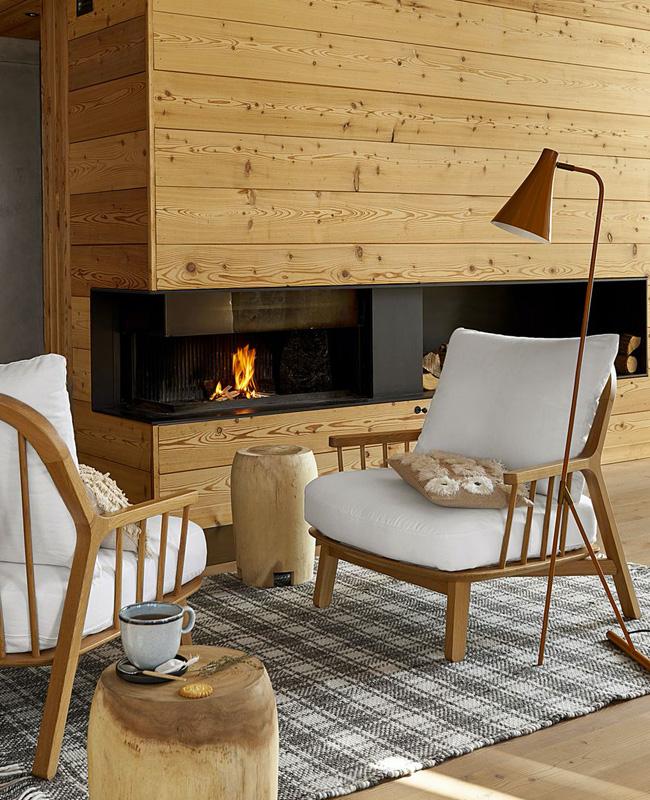 fauteuil bois barreaux