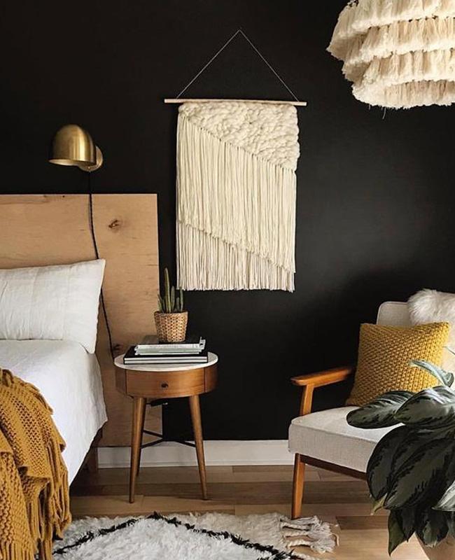 chambre noire bois boheme