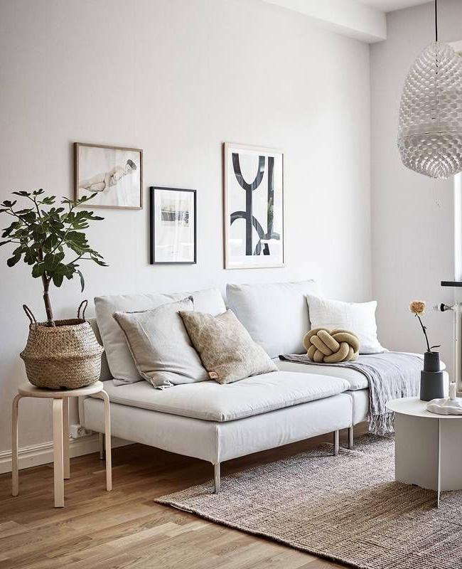 deco salon moderne scandinave blanc