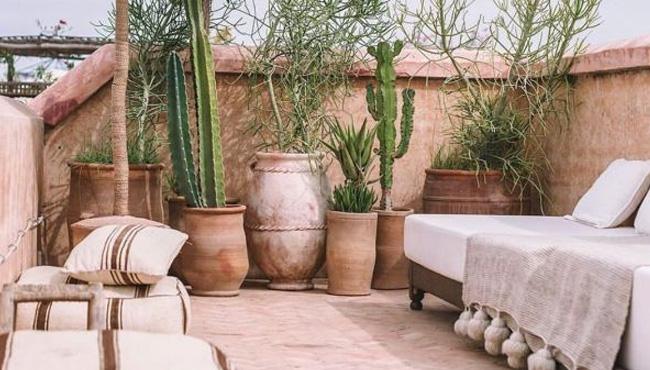 deco terracotta terrasse