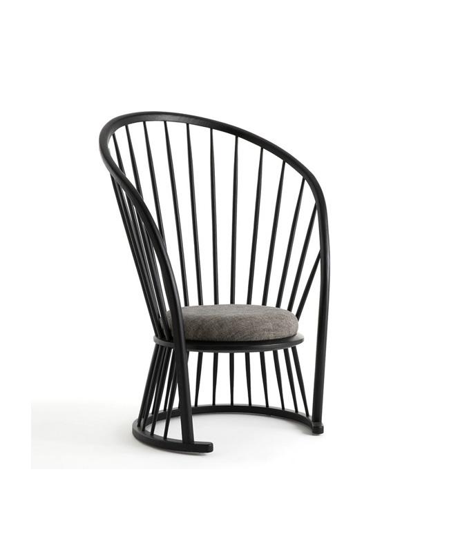 fauteuil dossier haut noir