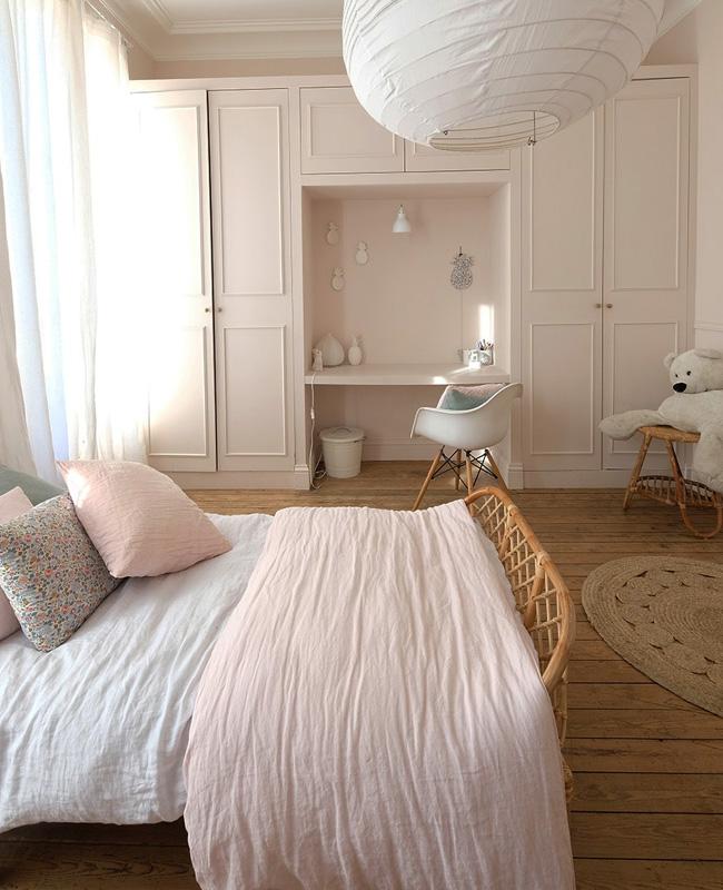 mure rose poudre deco chambre ado